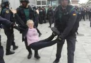 katalánsko policejní brutalita