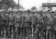 Foto: Čs. legionáři průzkumných jednotek v Itálii 1917 (zdroj: VHU.CZ)